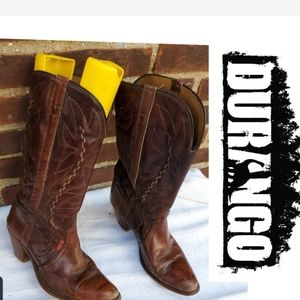 Durango vintage cowboy boots 10